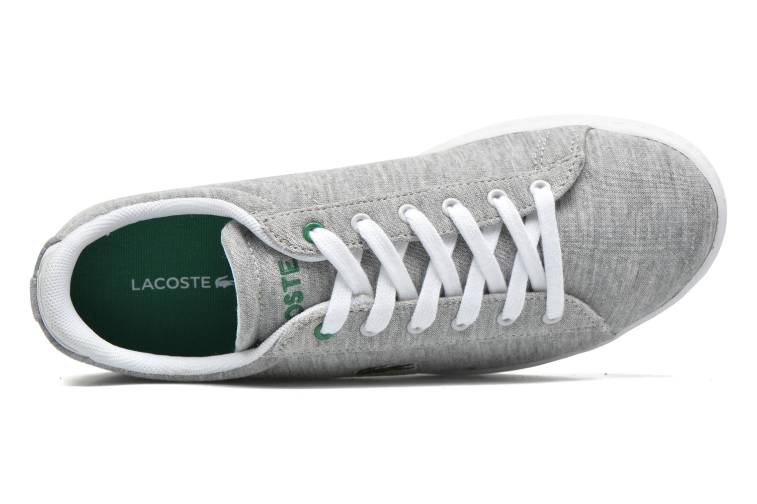 Trainers Lacoste Carnaby EVO 116 2 Grey view from the left